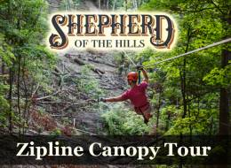 Shepherd of the Hills Zipline Canopy Tour